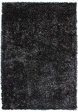 Kayoom Teppich ddyd 3–120–120, Baumwolle, Anthrazit, 120x 17x 17cm