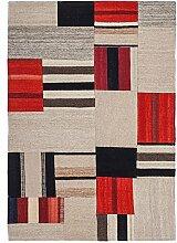 Kayoom Teppich, Stoff, mehrfarbig, 120x 13x 13cm