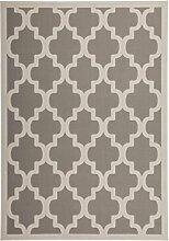 Kayoom Teppich, Stoff, silber, 120x 16x 16cm