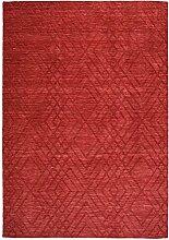 Kayoom Teppich, verschiedene, Rot, 120x 14x 14cm