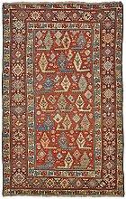 Kazak Alt Teppich Orientteppich 205x131 cm