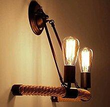 KBEST Rustikal Wandlampen Vintage Dimmbar