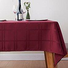 KBG Einfache Und Großzügige Karierte Tischdecke