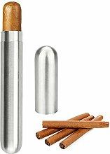 KBNIAN Zigarre Tube Tragbarer Single Cigar Tube