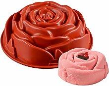 KBstore Rose Blume Formen Antihaft Silikon