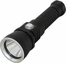 KC Fire 1000Lumen xml-l2Tauchen Licht, Super Bright LED Handheld Taschenlampe, wasserdicht IPX-8, Unterwasser Taschenlampe für Outdoor unter Wasser Spor