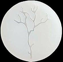 Kcibyvx Silikonform Gießformen, Blätter