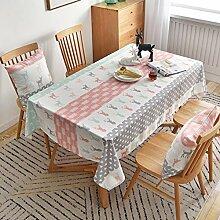 KCLOPY Tischdecke Moderne Mode nordischen Stil