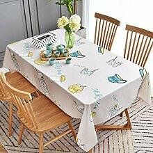 KCLOPY Tischdecke Moderne persönlichkeit