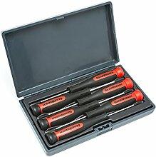 KD Werkzeuge KDT80055 6 St-ck Mini Phillips / Schlitz-Schraubendreher-Se