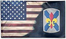 KDU Fashion Banner Flag,Armee 256Th Infanterie