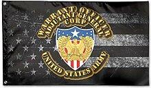 KDU Fashion Banner Flag,Army Warrant Officer