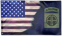KDU Fashion Banner Flag,Us Army 82. Airborne