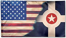 KDU Fashion Family Flags,Indianapolis Mit American