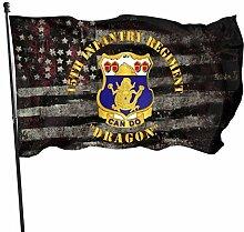 KDU Fashion Flag Banner,15. Infanterie REGT Dragon