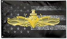 KDU Fashion Home Flag,Us Navy Surface Warfare