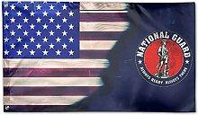 KDU Fashion Home Garden Flag,Armee Nationalgarde