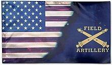 KDU Fashion Home Garden Flag,Us Army Artillerie
