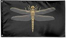 KDU Fashion House Yard Flag,Gold Libelle