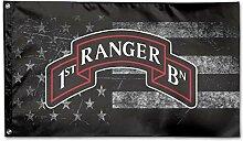 KDU Fashion House Yard Flag,Ranger 1. Bataillon