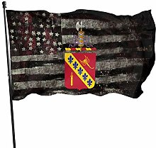 KDU Fashion House Yard Flags,168Th Field Artillery