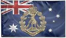 KDU Fashion House Yard Flags,Royal Australian