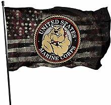 KDU Fashion House Yard Flags,United States Marine
