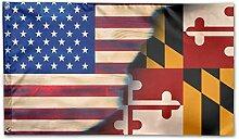 KDU Fashion Yard Flag,Maryland Mit Flaggenfahne
