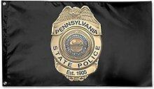 KDU Fashion Yard Flag,Pennsylvania State Police