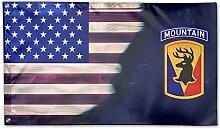 KDU Fashion Yard Flag,Us Army 86. Infanterie