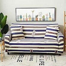 KE & LE 1-stück Jacquard Elastisch Sofaüberzüge