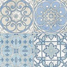 KE29950 - Küche Style 2 Geometrische Beige Blau