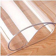KEANCH Rechteck Transparente Tischdecke, PVC