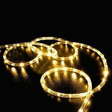 Keeda Solar Lichterkette, 100LED, 12m, Seil Lichterkette, Lichtschlauch, LED-Lampe, wasserdicht, Dekoration Outdoor/Lichter Solar Dekorative  Außenleuchte, Beleuchtung Solar, Lichter Ketten, Kette Solar Außen
