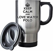 Keep Calm and Love Water Polo Thermobecher aus