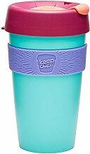 Keep Cup Becher, Blüten-Motiv, 470 ml