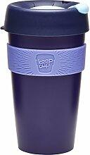KeepCup Wiederverwendbarer Becher Thermobecher, plastik, blueberry, 16oz/454ml