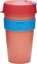 KeepCup Wiederverwendbarer Becher Thermobecher, plastik, Tea Rose, 16oz/454ml
