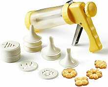 KeepingcooX Cookie Presse Icing Gun Set/