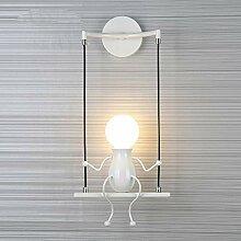 Kefaith LED Wandleuchten Kreative Doppel Kleine
