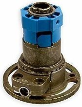 Kegelradgetriebe K079 | Untersetzung 2:1 links | für SW 40 achtkant Stahlwelle