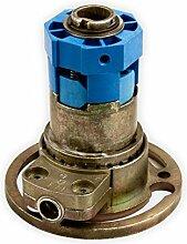 Kegelradgetriebe K080 | Untersetzung 2:1 rechts | für SW 40 achtkant Stahlwelle