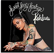 Kehlani Rap Hiphop Music SSS Kunstdruck, trendige