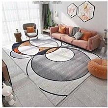 KEHUITONG Moderne Nordic Art Ikea-Stil Teppich,