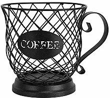KEIBODETRD Kaffeepadhalter und Organizer-Becher