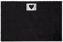 Keilbach-Design Heart Fußmatte 87 x 57 cm, mit