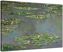 Keilrahmenbild Claude Monet Seerosenteich -