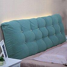 Kein Bett-Kopf-weiches Tuch-Tuch-Bett-Doppelt-Kissen-großes Kissen-Rückseiten-Kissen ( Farbe : 3# , größe : 15*58*150cm )
