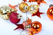 keine Angabe LED Weihnachtsgirlande mit Sternen