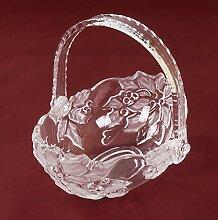 keine Angabe Walther Glas Poinsettia Körbchen